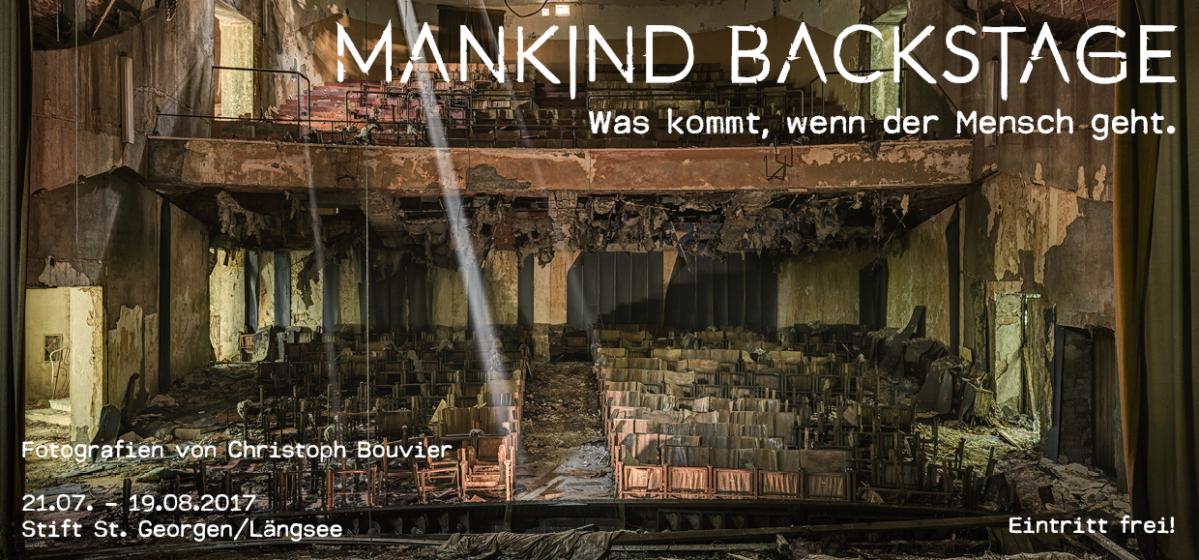 Ausstellung mankind backstage